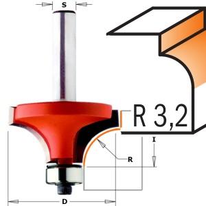 CMT 938.190.11 avrundingsfres R 3,2 mm