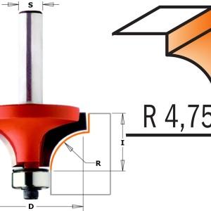 CMT 938.222.11 avrundingsfres R 4,75 mm