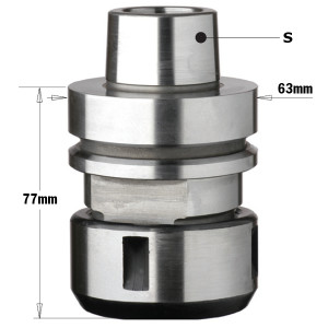 HSK 63F chuck for CNC maskin