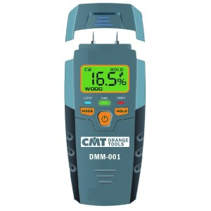 Digital fuktighetsmåler for måling fuktighet i treverk og byggematerialer