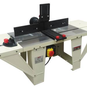 JET fresebord for stasjonær bruk av håndoverfres  Kraftig modell i støpejern