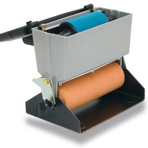 Håndlimpåfører for PVA lim med stasjonæranordning og ekstra toppvalse for stasjonær bruk