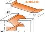 CMT 900.512.11 Fresesett for skapdører Profilskisse