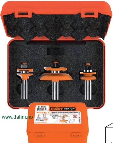 CMT 900.518.11 Fresesett for skapdører