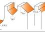 CMT 900.008.01 Fresesett Fræsejernssett Overfræsesett Profiloversikt