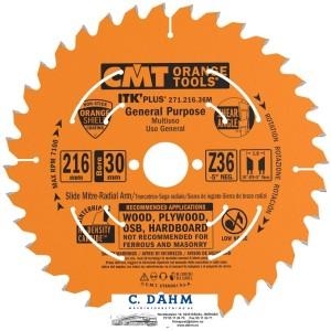 CMT 271.216.36M HM sagblad