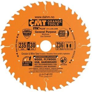 CMT Orange Tools 271,235.36 235 x 1.7 x 30 36 Z Sagblad universal
