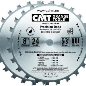 CMT 230.524.08 Dado sett