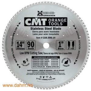 226.590.14 Stål tørrkappsagblad for stål og rustfritt