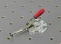 12 Waagrechtspanner mit runder Adapterplatte offen und Klemmbolzen mit Scheibe